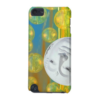 Peace – Golden and Emerald Serenity iPod Touch (5th Generation) Covers