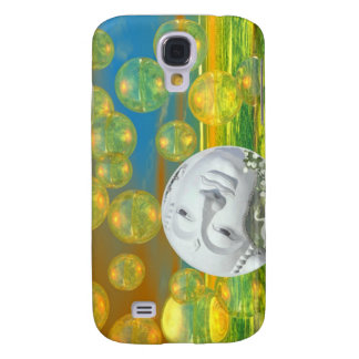 Peace – Golden and Emerald Serenity Galaxy S4 Case