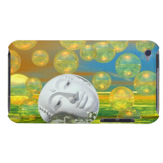 Peace – Golden and Emerald Serenity iPod Case-Mate Cases
