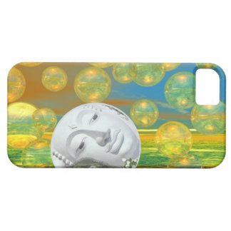 Peace – Golden and Emerald Serenity iPhone 5 Cases