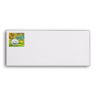 Peace – Golden and Emerald Serenity Envelope
