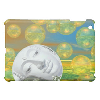 Peace – Golden and Emerald Serenity iPad Mini Cases