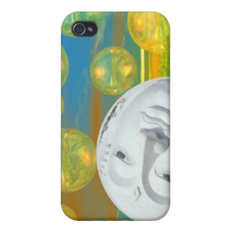 Peace – Golden and Emerald Serenity iPhone 4 Cases