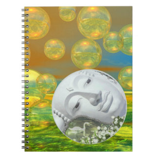 Peace – Golden and Emerald Serenity Note Book
