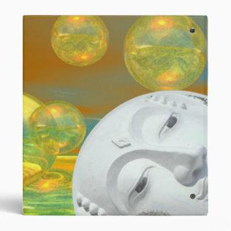 Peace – Golden and Emerald Serenity Vinyl Binder