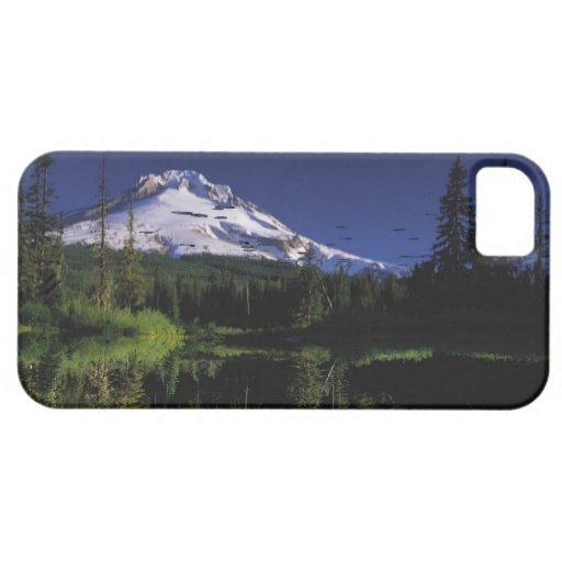Peace: Green Forest, Blue Lake, & Mountain Photo iPhone 5 Case