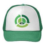 PEACE GREEN LIVING Trucker Hat