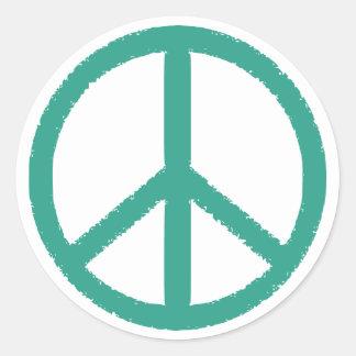 peace green sticker