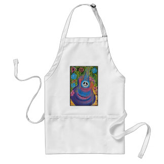 Peace Guitar Adult Apron