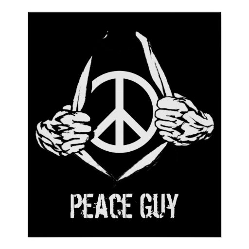 Peace Guy Posters