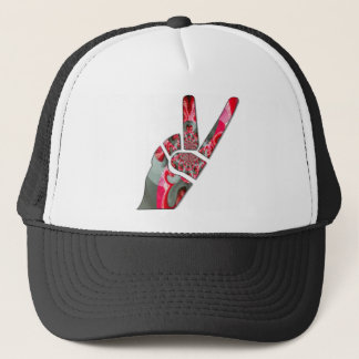 Peace Hakuna Matata love all to save all amazing p Trucker Hat