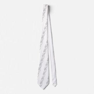 Peace Hand Neck Tie