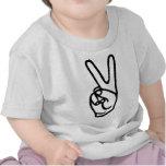 peace hand - no war tshirts