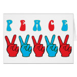 Peace Hands Cards