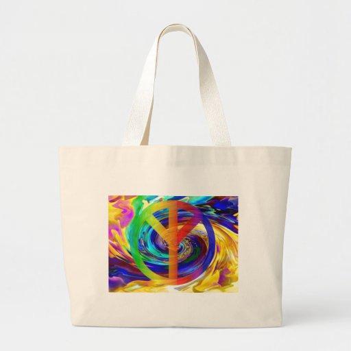 Peace & Harmony_ Canvas Bags