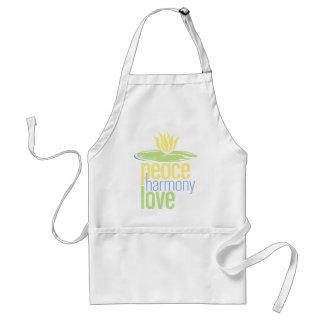 Peace Harmony Love Apron