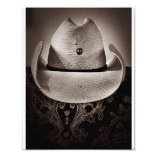 Peace Hat Photo Print