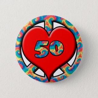 Peace, Heart, 50 Pinback Button