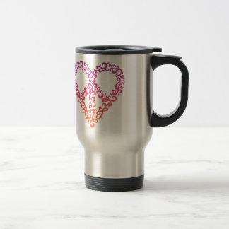 Peace-Heart Coffee Mug