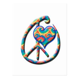 Peace Heart Postcard