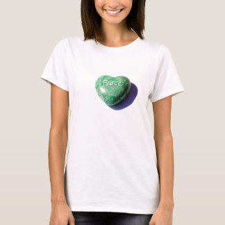 Peace Heart Stone T-Shirt