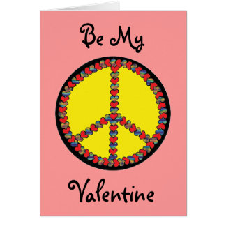 Peace Heart Valentine's Day Card