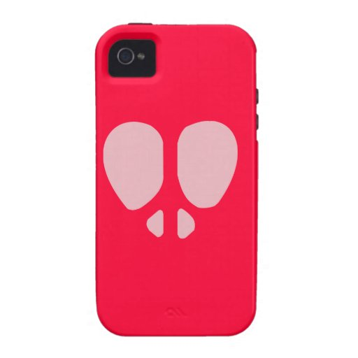 Peace Heart Vibe iPhone 4 Cover