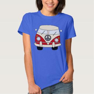 PEACE,HIPPIE caravan T-Shirt