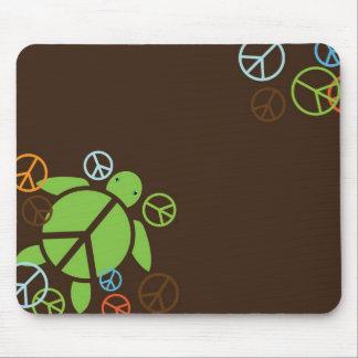 Peace Honu Mouse Pad