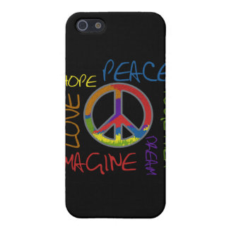 Peace Hope Love Imagine Together iPhone4 Cover