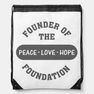 Peace Hope Love Backpacks