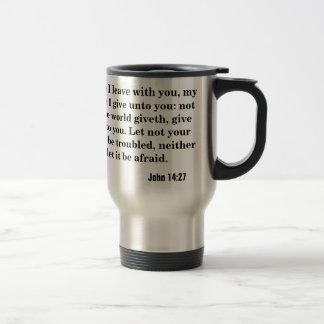 Peace I leave with you.  John 14:27 Coffee Mug