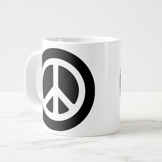 Peace Ideology Large Coffee Mug