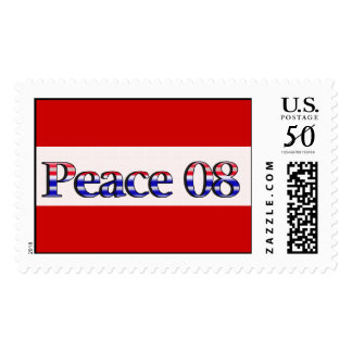 Peace in 2008 postage