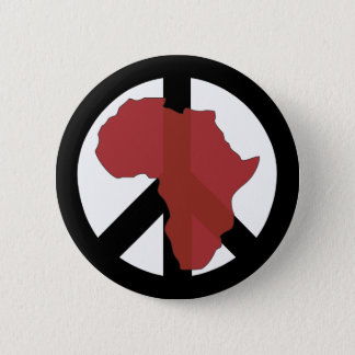 Peace in Africa Button