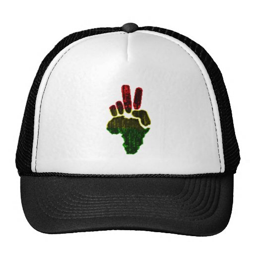 Peace in Africa Hats