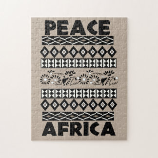 Peace In Africa Jigsaw Puzzle