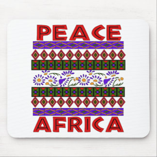 Peace In Africa Mouse Pad