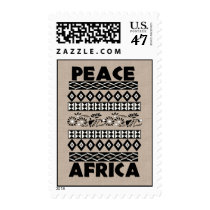 Peace In Africa Postage