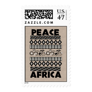 Peace In Africa Stamp