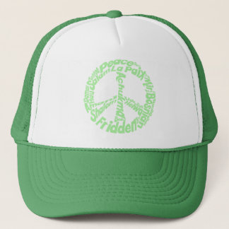 Peace in all Languages Trucker Hat