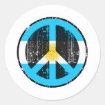 Peace In Argentina Sticker