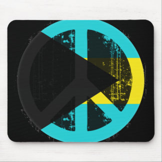 Peace In Bahamas Mouse Pad