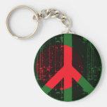 Peace In Bangladesh Basic Round Button Keychain
