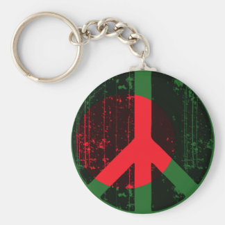 Peace In Bangladesh Keychain