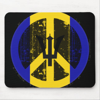Peace In Barbados Mouse Pad