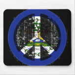 Peace In Belize Mouse Mats