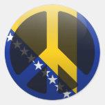Peace in Bosnia and Herzegovina Sticker