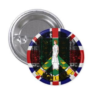 Peace In British Virgin Islands Button