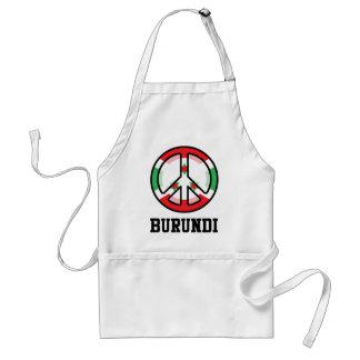Peace In Burundi Adult Apron